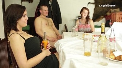 Bizarre orgy with sex crazy czech people