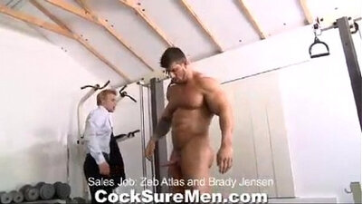 Benja Cum Tease With Byique Twink Fessy