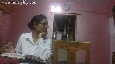Cute Indian Boy Gives a BJ In The Office