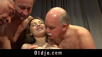cute blonde and muslim young orgy