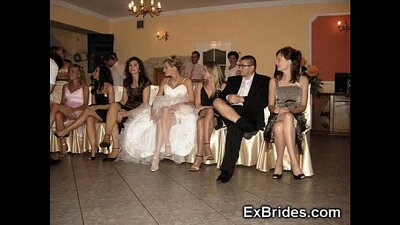 Banging a curvy upskirt with my wedding dress on it