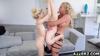 bored wife serving men lesson