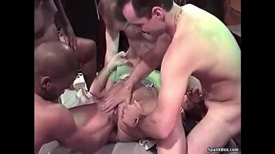 Granny gangbanged And Fucked By Stranger
