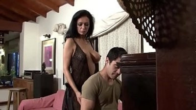 My boy slottch of a wife entices younger boy