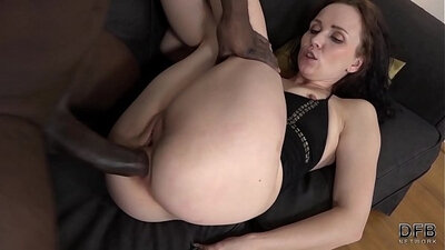 Cock slut first time anal sex and swallows a lot of cum