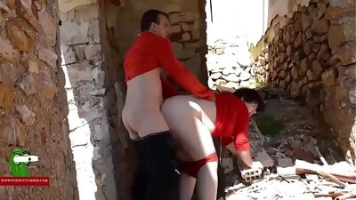 BBW Everhard and Slippery girlfriend have horny poolside fuck fest