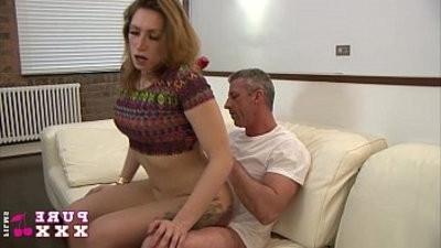 Caught masturbating at home