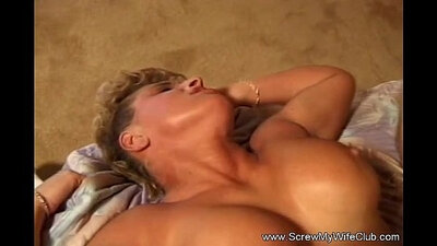 Cute Blonde Banged In Ass And Toes