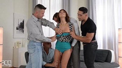 Luxury wife gets the gift of gang bang from her Kinky hubby