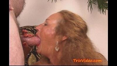 My Granny bringing me for a Double SLUT Throatjob