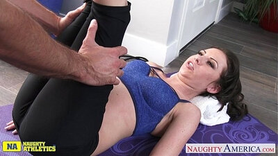 Big booty of my busty girlizes in shaking ballet flats gal rides her cock