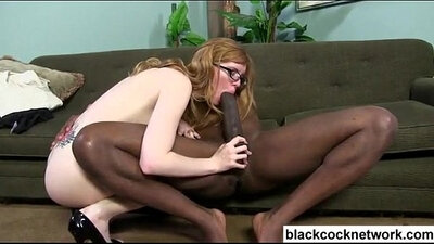 Chick Ivy White The First Time She Tries A Spank