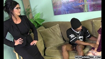 Beautiful Japanese Mom Works Out for Bbc Given Sharing