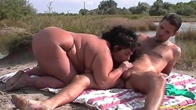 flexi bbw girl rough outdoor fucked