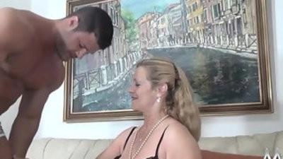 Mmv films sexy granny tries fresh meat