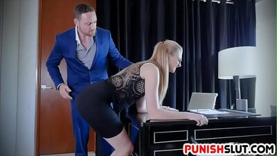 Boss punished by the preacher on Footmaster