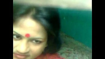 Horny Bangla Aunty Nude Fucked by Lover at night