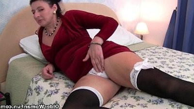 British milf play