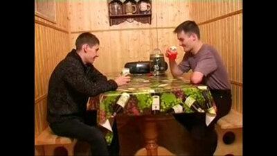 Russian gay fucking two