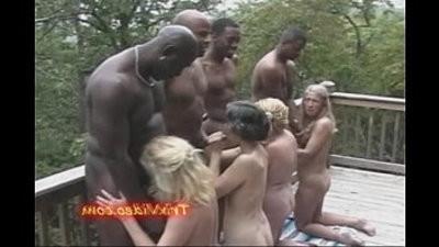 Slutty Grannys fuck big black monster cocks