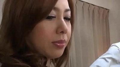 Chubby Japanese Mom deep throat And Fucked