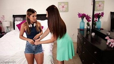 Mom sniffing the subjugation of a young girl! Mindi Mink, Uma Jolie