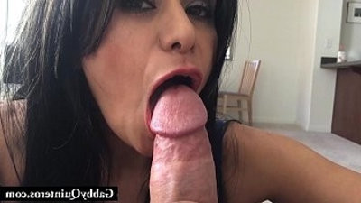 Meximummy Gabby Quinteros Gives A Hard shaft POV BJ