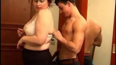 BBW Mature Woman and youthfuler Boy