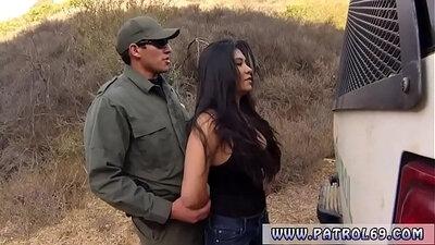 Black police Stunning Mexican hooker Alejandra Leon admits