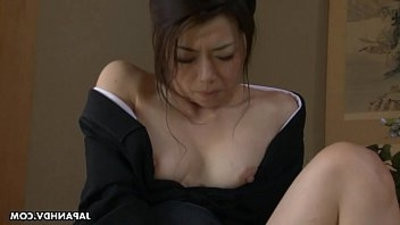 Asian getting dirty sex with her hook up toys