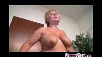 blonde grandma Euro missionary Private show