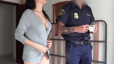 British fake cop titranssexual deep throatranssexual and fucks babe