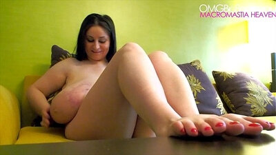 Mludera Sinn in Foot fetish and all natural
