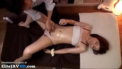 Japanese chicks do hot massage sex pussyy presses hubby