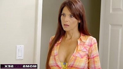 MomsTeachSex fuckslutty MILF Makes StepSon jism Inside!