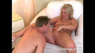 Blonde Housewife Zoe Byrsis Takes a Raw Pounding