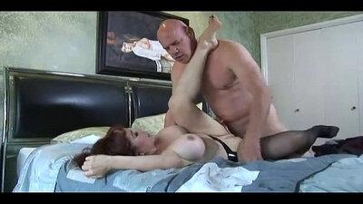 Cum hungry Latina big tits milf in glasses hardcore fucking