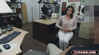 Big tit wife licks pussy again