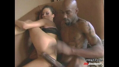 Black cock oiled up and watch free sex video