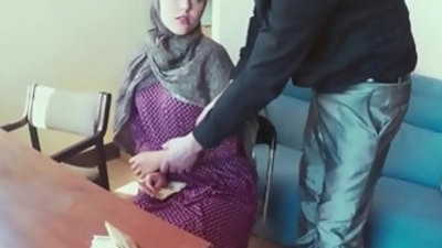 Pussyfucked jihab muslender babe mouth creamed
