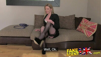 Sexy MILFs in Stockings and Volkite for the Casting Couch