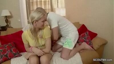 Virgin sister bangs step brother