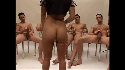 Nicole Schwarz enjoys hot gangbang threesome