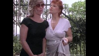 Classic lesbian Kitty Hawk fucks her teacher