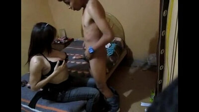 Eye catching Mexican young girl is having sex with her stepmom