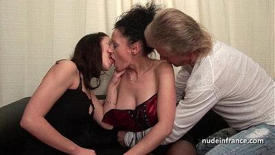 Amateur brunette and dudes babe couple porn
