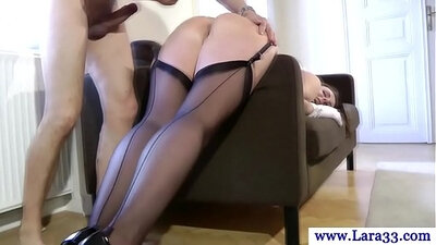 Blonde Mature Milf in Stockings starring Mandy More and Bill Bailey