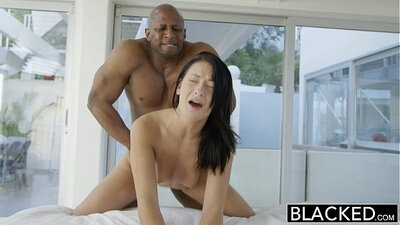 Anal Sex With horny Interracial Teen