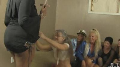 All girl hrimmingeen orgy
