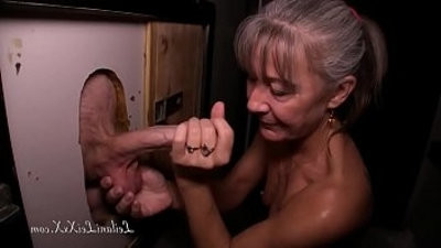 Milf Visitranssexual Glory Hole for very first Time